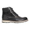 Pánska členková zimná obuv bata, šedá, 896-2657 - 15