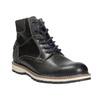 Pánska členková zimná obuv bata, šedá, 896-2657 - 13