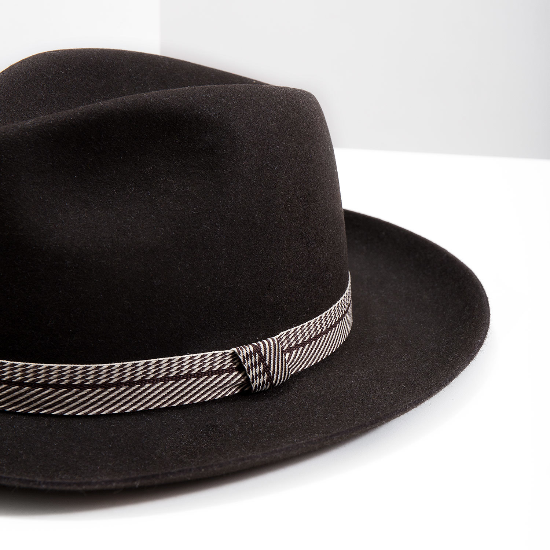472a6d7aa Tonak Tmavo hnedý pánsky klobúk - Čiapky a klobúky | Baťa.sk