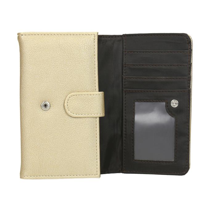 Dámska peňaženka so zipsovým vreckom bata, 941-8156 - 15
