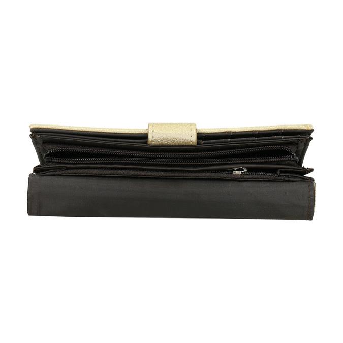 Dámska peňaženka so zipsovým vreckom bata, 941-8156 - 17