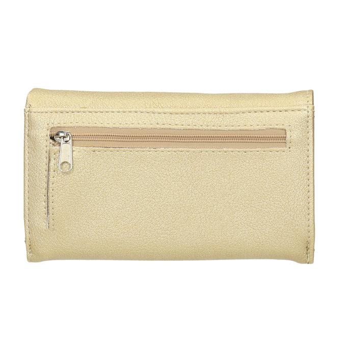 Dámska peňaženka so zipsovým vreckom bata, 941-8156 - 16