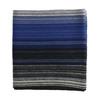 Pánsky modrý šál s prúžkami bata, modrá, 909-9617 - 26
