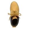 Kožená členková obuv weinbrenner, žltá, 896-8669 - 15