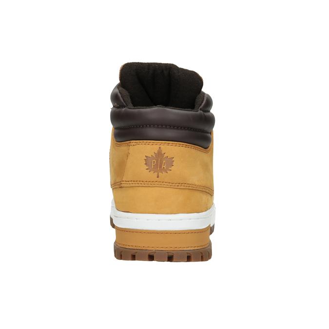 Kožená pánska zimná obuv k1x, hnedá, 806-3495 - 16