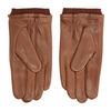 Kožené rukavice hnedé bata, hnedá, 904-3117 - 16