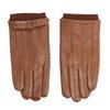 Kožené rukavice hnedé bata, hnedá, 904-3117 - 26
