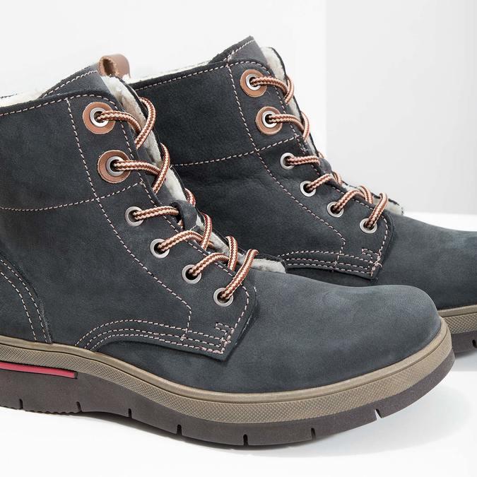 Weinbrenner Kožená dámska zimná obuv - Weinbrenner pre ňu  64630d69613