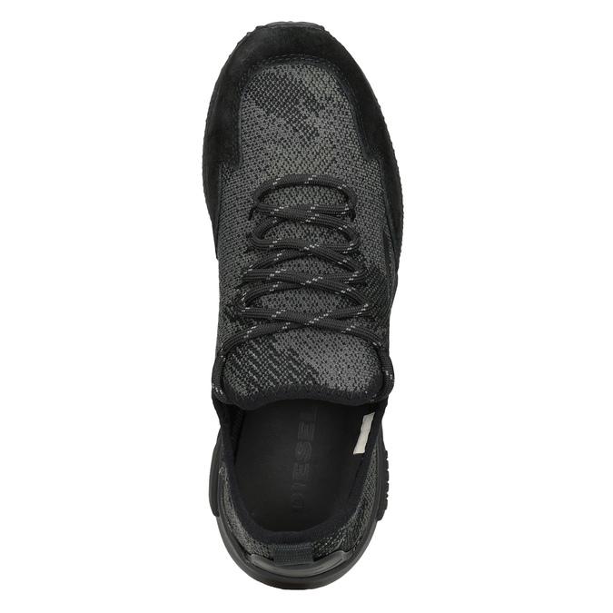 Dámske športové tenisky diesel, čierna, 509-6760 - 17