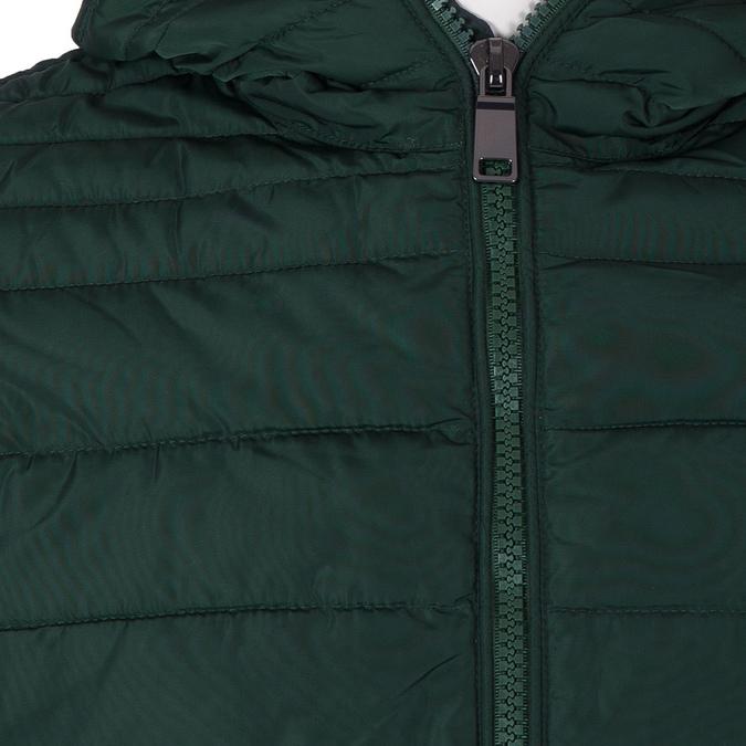 Zelená pánska bunda s kapucou bata, zelená, 979-7130 - 16