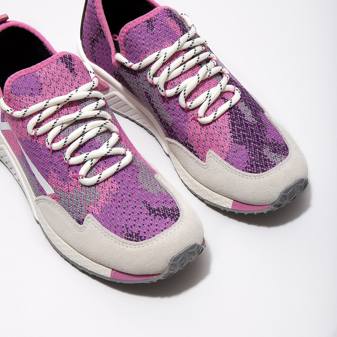 Ružové športové tenisky diesel, ružová, 509-5760 - 14