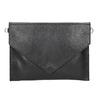 Dámska kožená listová kabelka bata, čierna, 964-6193 - 17