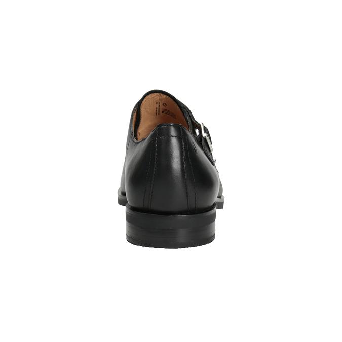 Pánske kožené Monk Shoes vagabond, čierna, 814-6023 - 16