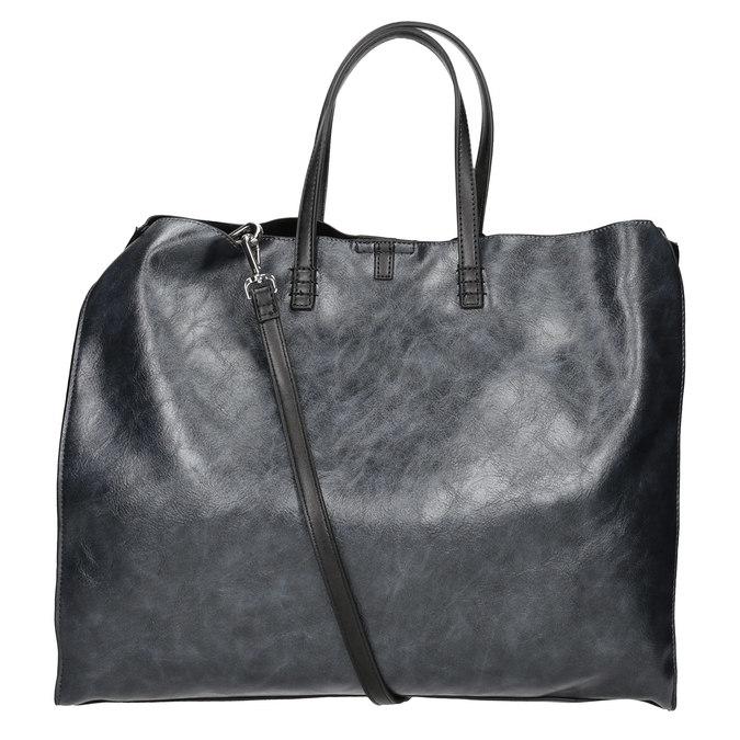 Dámská kabelka so strapcom bata, čierna, 961-9200 - 16