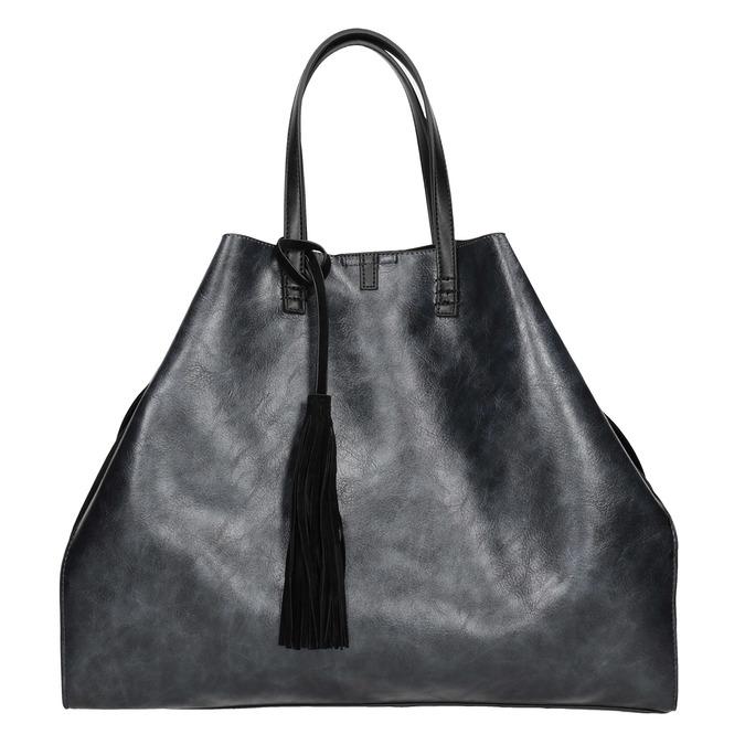 Dámská kabelka so strapcom bata, čierna, 961-9200 - 26