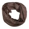 Kruhový šál s trblietavými odleskami bata, viacfarebné, 909-0652 - 26