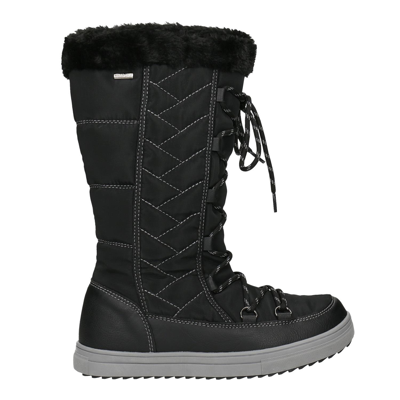 c3bd35f5bde43 ... Dámske snehule s prešívaním bata, čierna, 599-6621 - 26 ...