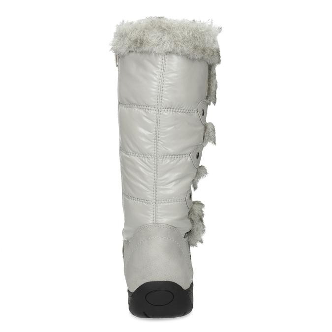 Zimné snehule s kožúškom bata, šedá, 599-8618 - 15