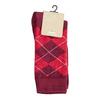 Pánske ponožky s anglickým vzorom bata, červená, 919-5300 - 13