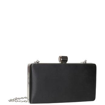 Dámska listová kabelka s retiazkou bata, čierna, 969-6671 - 13