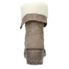 Kožená dámska zimná obuv weinbrenner, hnedá, 696-4336 - 15