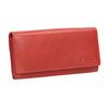 Dámska červená peňaženka z kože bata, červená, 944-3203 - 13