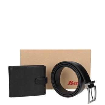 Darčekové balenie kožený opasok a peňaženka bata, čierna, 954-6200 - 13