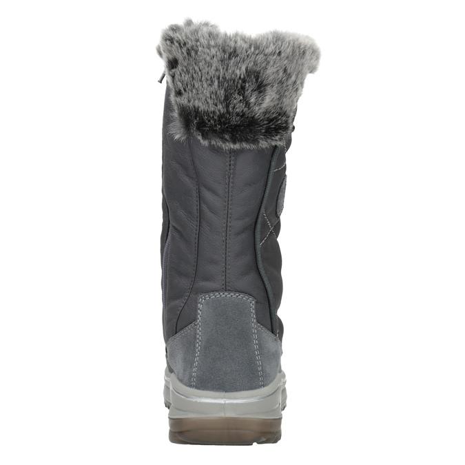 Dámska zimná obuv s kožúškom weinbrenner, šedá, 593-2616 - 16