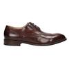 Hnedé pánske kožené poltopánky bata, hnedá, 826-4681 - 16