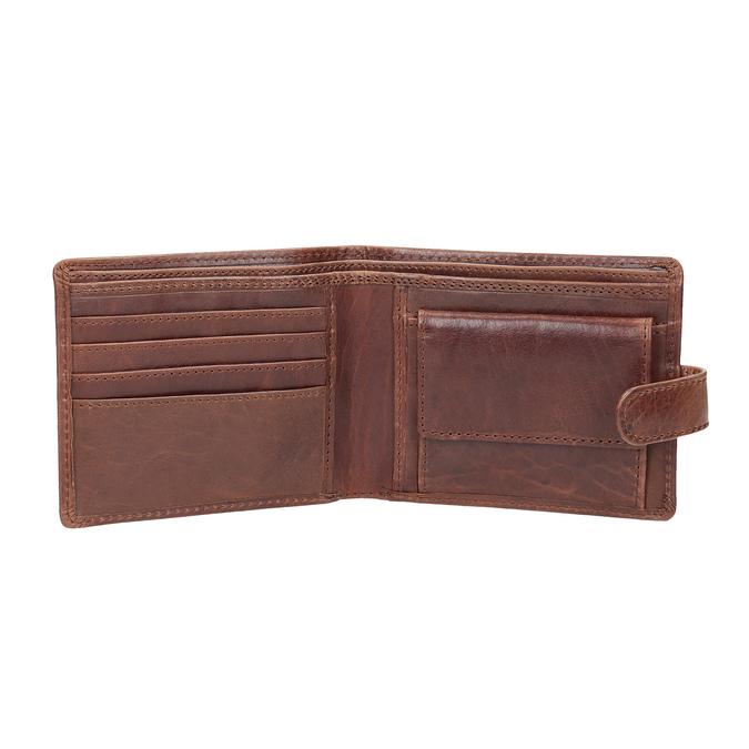 Darčekové balenie kožený opasok a peňaženka bata, hnedá, 954-3201 - 15