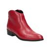 Červená členková obuv bata, červená, 594-5665 - 13