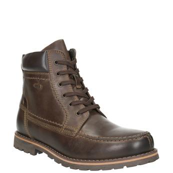 Pánska členková obuv bata, hnedá, 896-4640 - 13