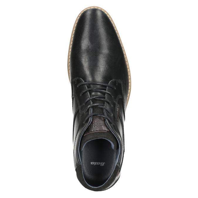 Členková pánska obuv bata, čierna, 826-6926 - 15