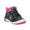 Členková obuv s výraznou podrážkou bubblegummers, modrá, 121-9619 - 13