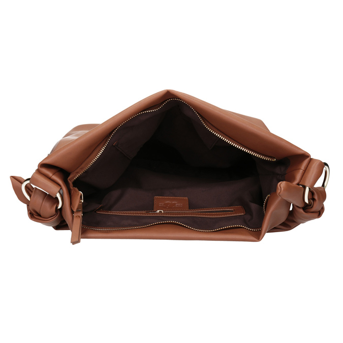 Hnedá dámska Hobo kabelka bata, hnedá, 961-3843 - 15