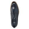 Kožené ležérne poltopánky modré bata, modrá, 826-9853 - 15