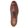 Hnedé kožené poltopánky pánske bata, hnedá, 826-3997 - 15