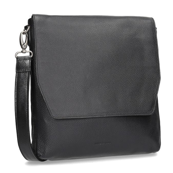 Kožená Crossbody taška royal-republiq, čierna, 964-6093 - 13