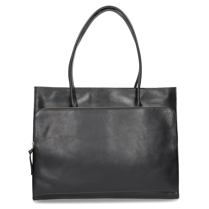 Kožená dámska kabelka royal-republiq, čierna, 964-6066 - 16