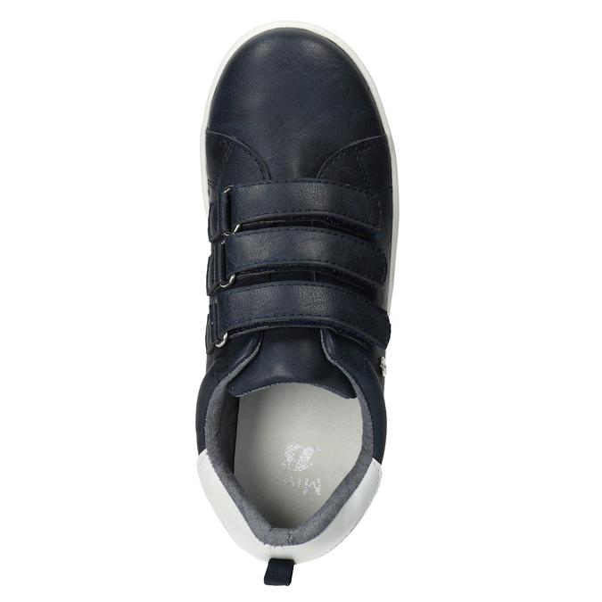 Ležérne detské tenisky na suchý zips mini-b, 411-9609 - 15