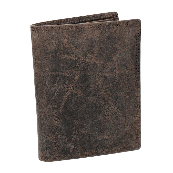 Hnedá pánska kožená peňaženka bata, hnedá, 944-4208 - 13