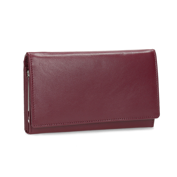Kožená dámska peňaženka bata, červená, 944-5205 - 13