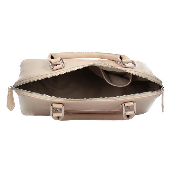 Lakovaná kabelka v elegantnom štýle bata, 961-8849 - 15