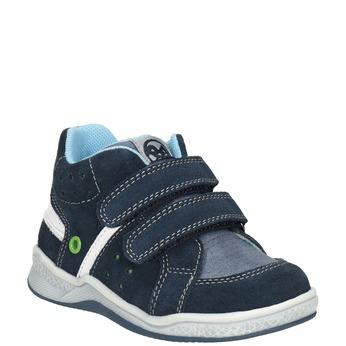 Detská kožená členková obuv bubblegummers, 113-9603 - 13
