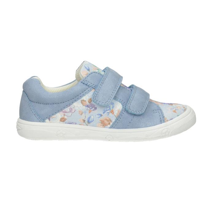 Modré detské tenisky so vzorom mini-b, modrá, 221-9215 - 26