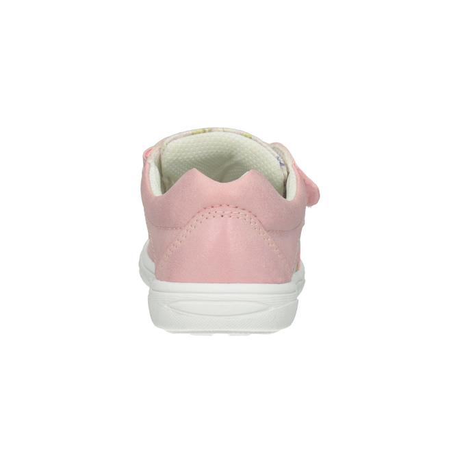 Ružové dievčenské tenisky so vzorom mini-b, 221-5215 - 16