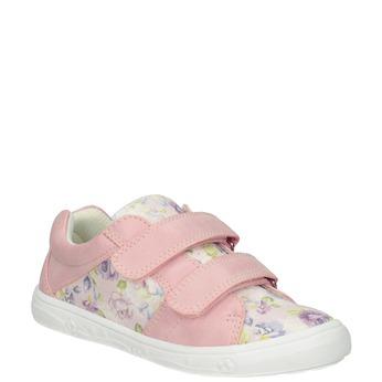 Ružové dievčenské tenisky so vzorom mini-b, 221-5215 - 13