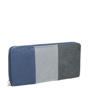 Dámska peňaženka na zips bata, modrá, 941-9216 - 13