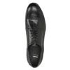 Celokožené pánske poltopánky bata, čierna, 824-6733 - 17