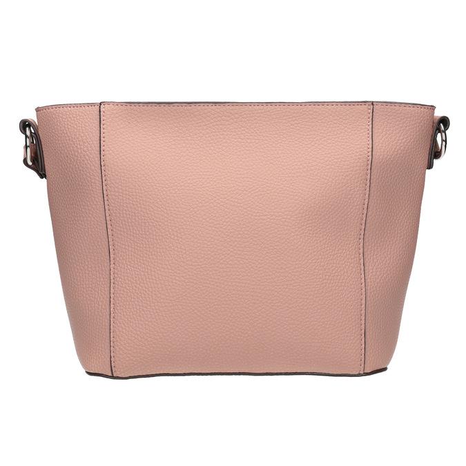 Dámska kabelka s prešívaním bata, ružová, 961-5842 - 26